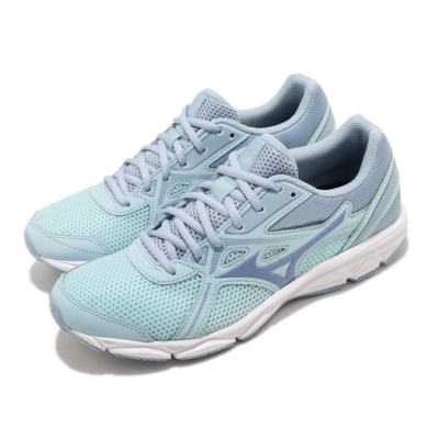 Mizuno 慢跑鞋 Spark 5 運動休閒 女鞋 美津濃 路跑 緩震 輕量 透氣 穿搭 藍 綠 K1GA200425