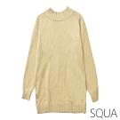 SQUA 立領素色針織洋裝-二色-(S~L)