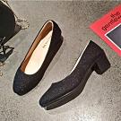KEITH-WILL時尚鞋館 時尚歐美百搭包頭鞋-黑色