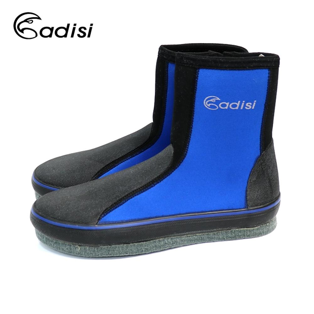 ADISI 長筒防滑鞋AS11109 黑藍黑|18~30 (潛水,溯溪)