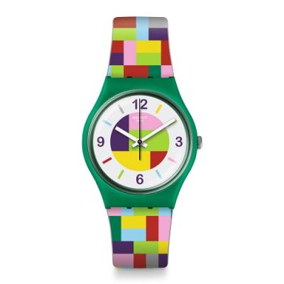 Swatch Gent 原創系列手錶 TET-WRIST -34mm