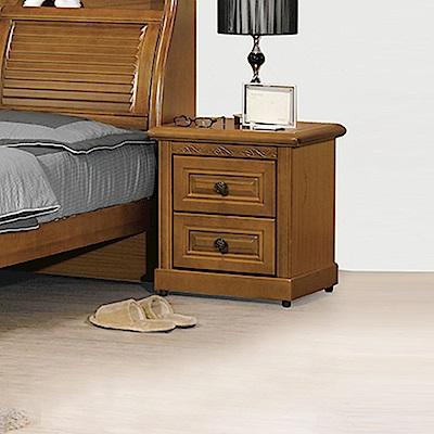 AS-亞爾曼樟木床頭櫃-53x45x56cm