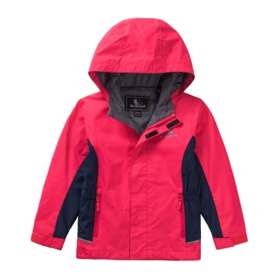 【St. Bonalt 聖伯納】戶外機能防風防潑水單層衝鋒衣│童款-8037