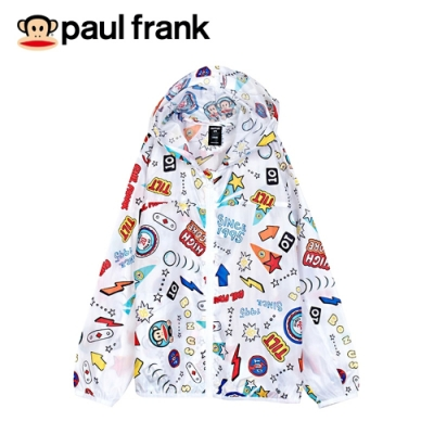 paul frank 淘氣小猴輕薄滿版外套(童)