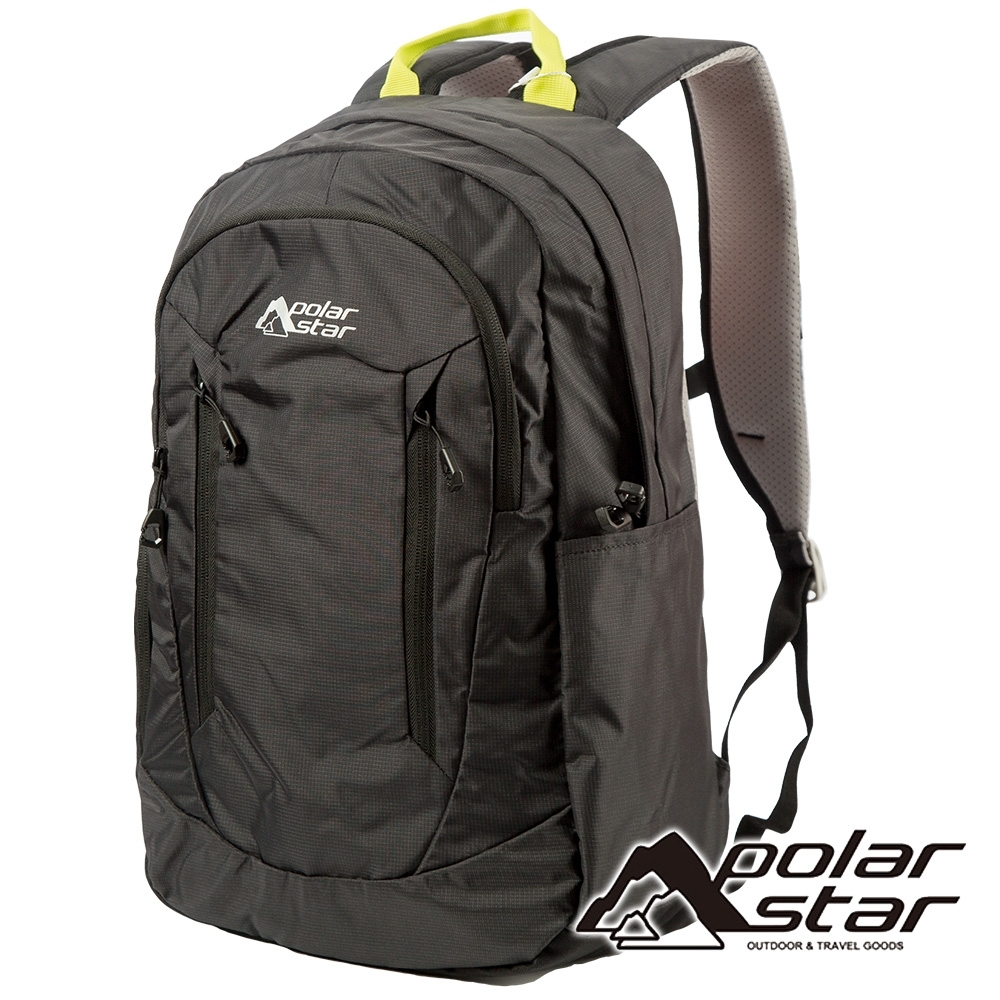 【PolarStar】休閒透氣背包 22L『黑』P19802