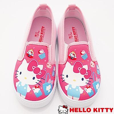 HelloKitty童鞋 輕量休閒鞋款 SE19821桃(中小童段)