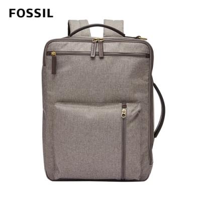 FOSSIL BUCKNER 多功能商務包 (可裝15吋筆電)-灰色 MBG9409064