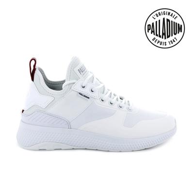 Palladium AX EON Amphibian復古慢跑鞋-女-白