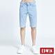 EDWIN EDGE涼感牛仔短褲-男-重漂藍 product thumbnail 1