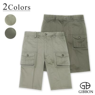 GIBBON 經典美式口袋工作短褲-二色