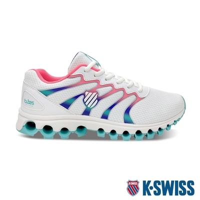 K-SWISS Tubes Comfort 200 輕量訓練鞋-女-白/桃紅/綠