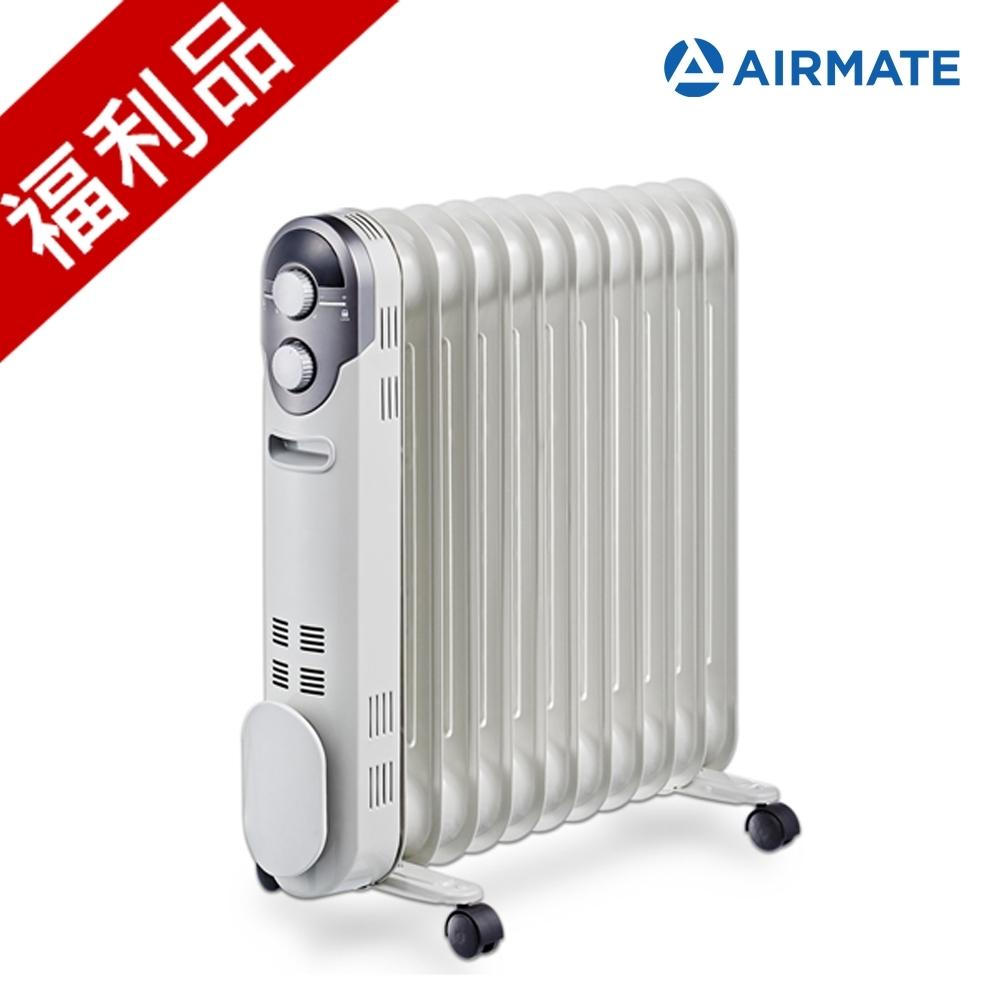福利品 AIRMATE艾美特 11片葉片式電暖器 HU1125
