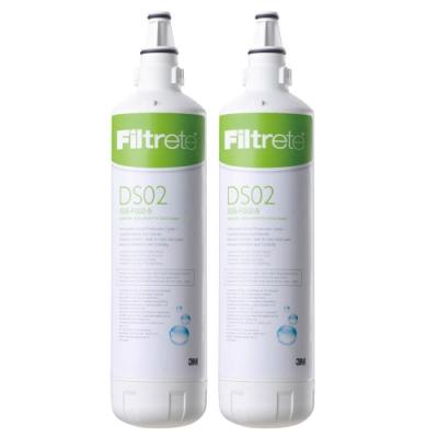 3M DIY全面級可生飲淨水器DS02-替換濾心(2入組)