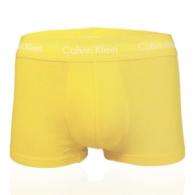 CALVIN KLEIN THE RPIDE EDIT系列 平口/四角 CK內褲 彩虹限量款 - 黃色
