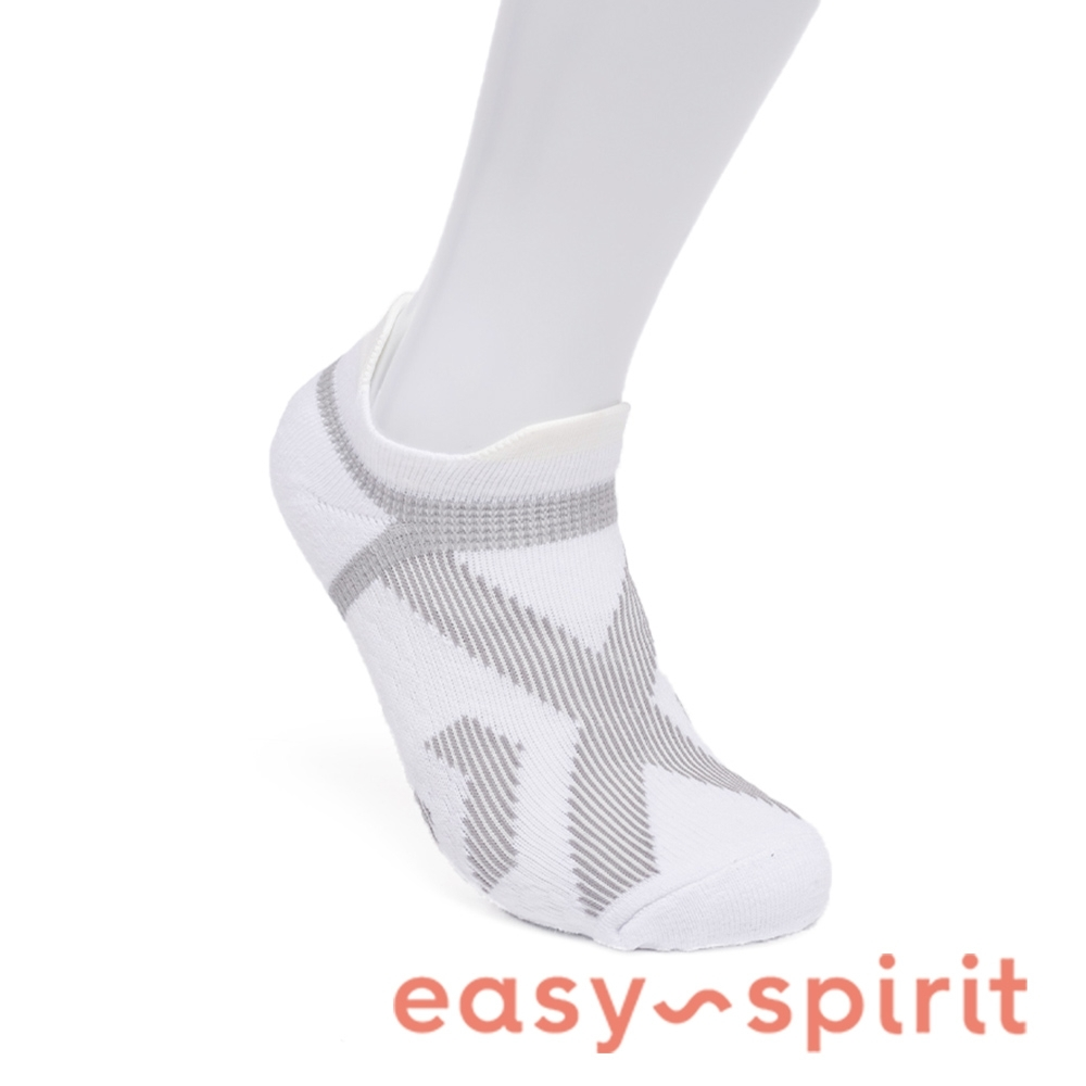 Easy Spirit 舒棉彈性襪-白色