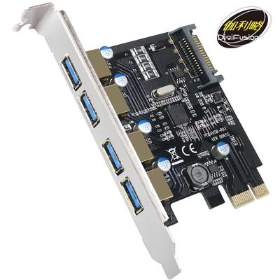 伽利略 PCI-E USB 3.0 4 Port 擴充卡