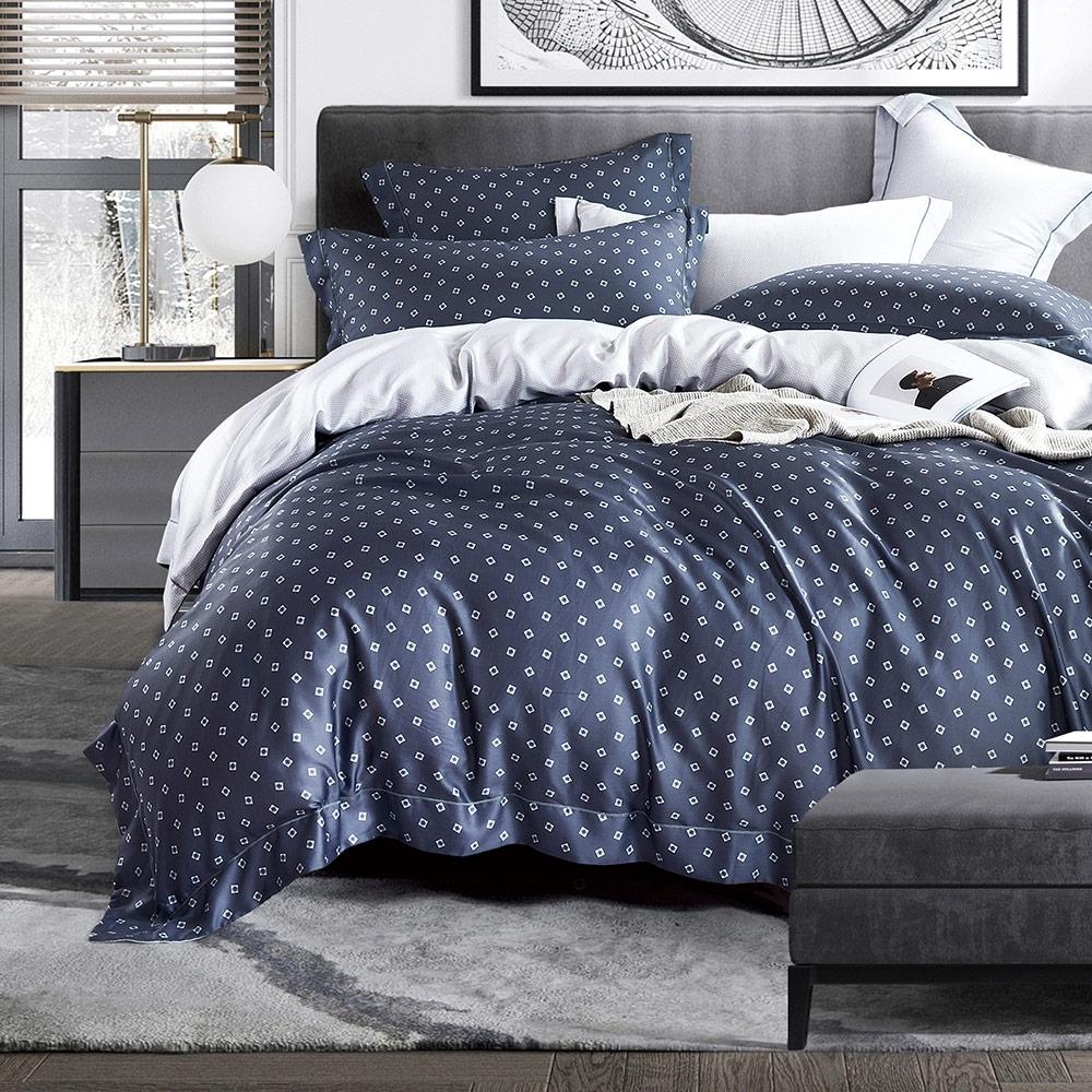 Ania Casa 100%天絲 雙人鋪棉兩用被套床包四件組 -多款任選 product image 1