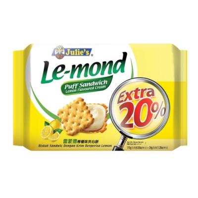 Julies茱蒂絲 雷蒙德檸檬味夾心餅-增量包(204g)
