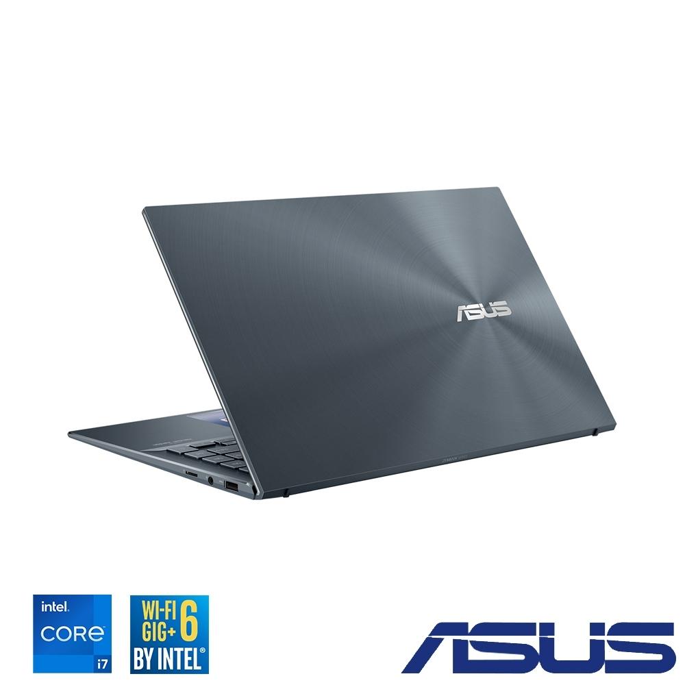 ASUS UX435EG 14吋筆電 (i7-1165G7/MX450/16G/1TB SSD/ZenBook 14/綠松灰)