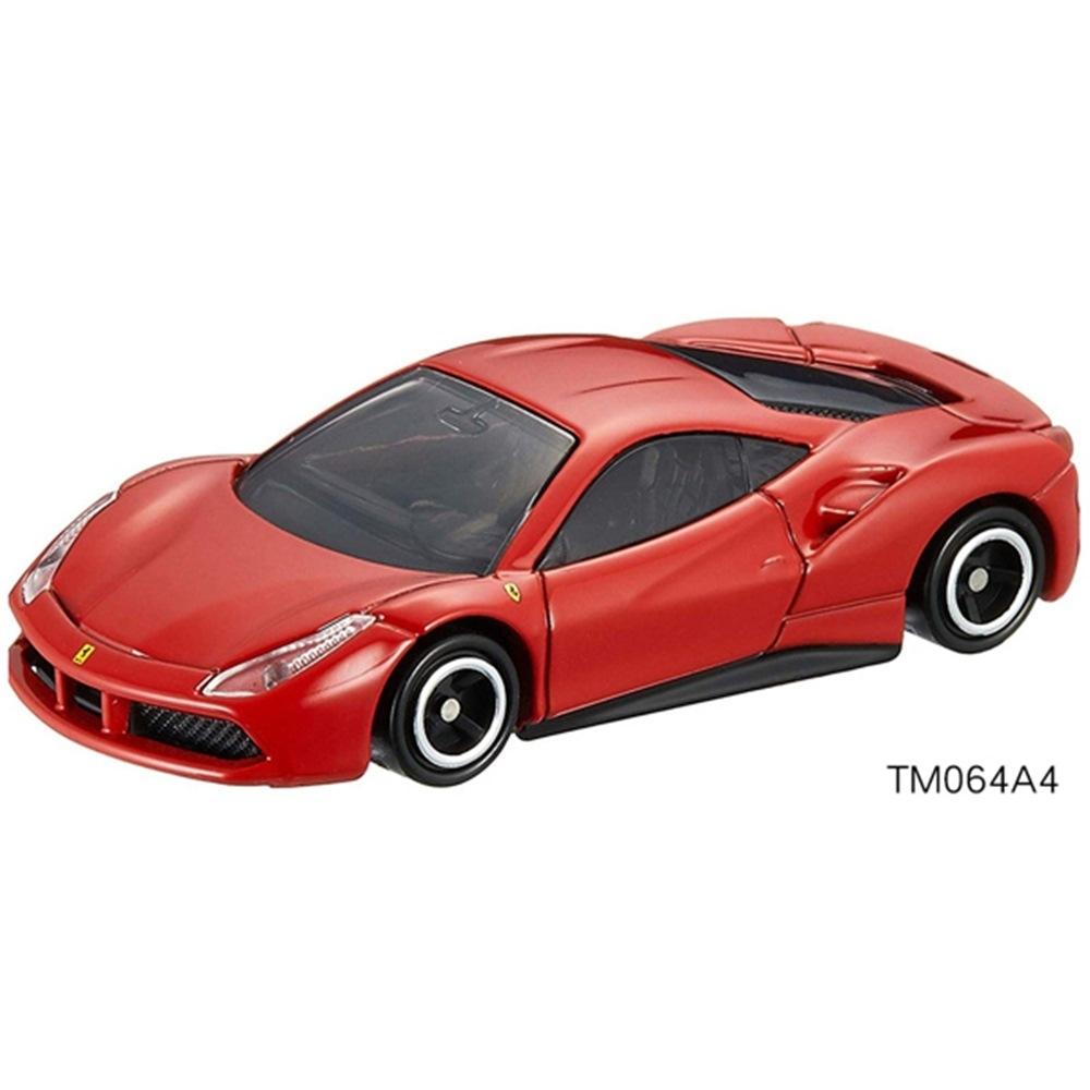任選TOMICA NO.064 法拉利 紅488GTB_TM064A4多美小汽車