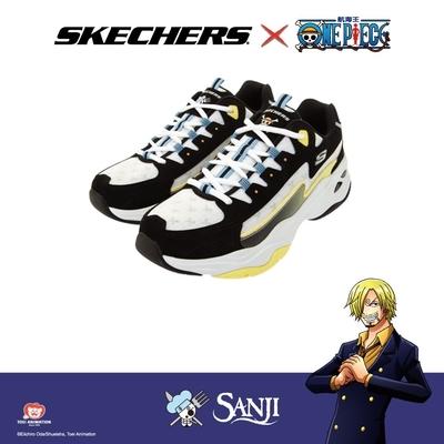SKECHERS 女 ONE PIECE聯名款 - 香吉士 D LITES 4.0 - 896036BKMT
