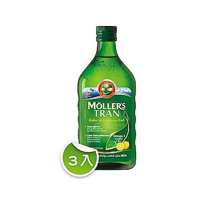 睦樂北極鱈魚肝油(檸檬口味250ml x 3入)