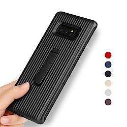 QinD SAMSUNG Galaxy Note 8 獵鷹支架殼