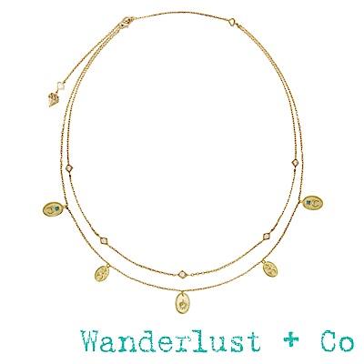 Wanderlust+Co幻想曲短項鍊