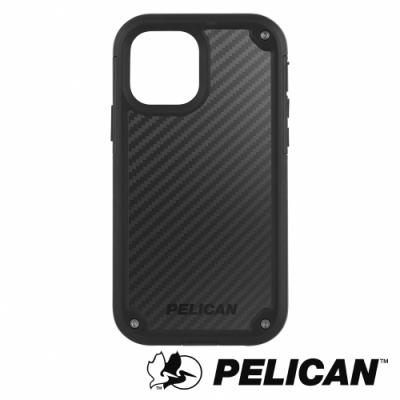 美國 Pelican 派力肯 iPhone 12 / 12 Pro 防摔抗菌手機保護殼 Shield 凱夫勒背板防護盾 - 黑