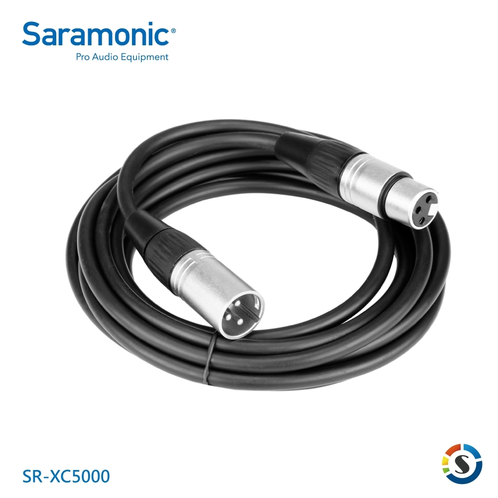 Saramonic楓笛 SR-XC5000 麥克風延長線(3-pin XLR)