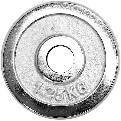 1.25公斤電鍍槓片(1入)