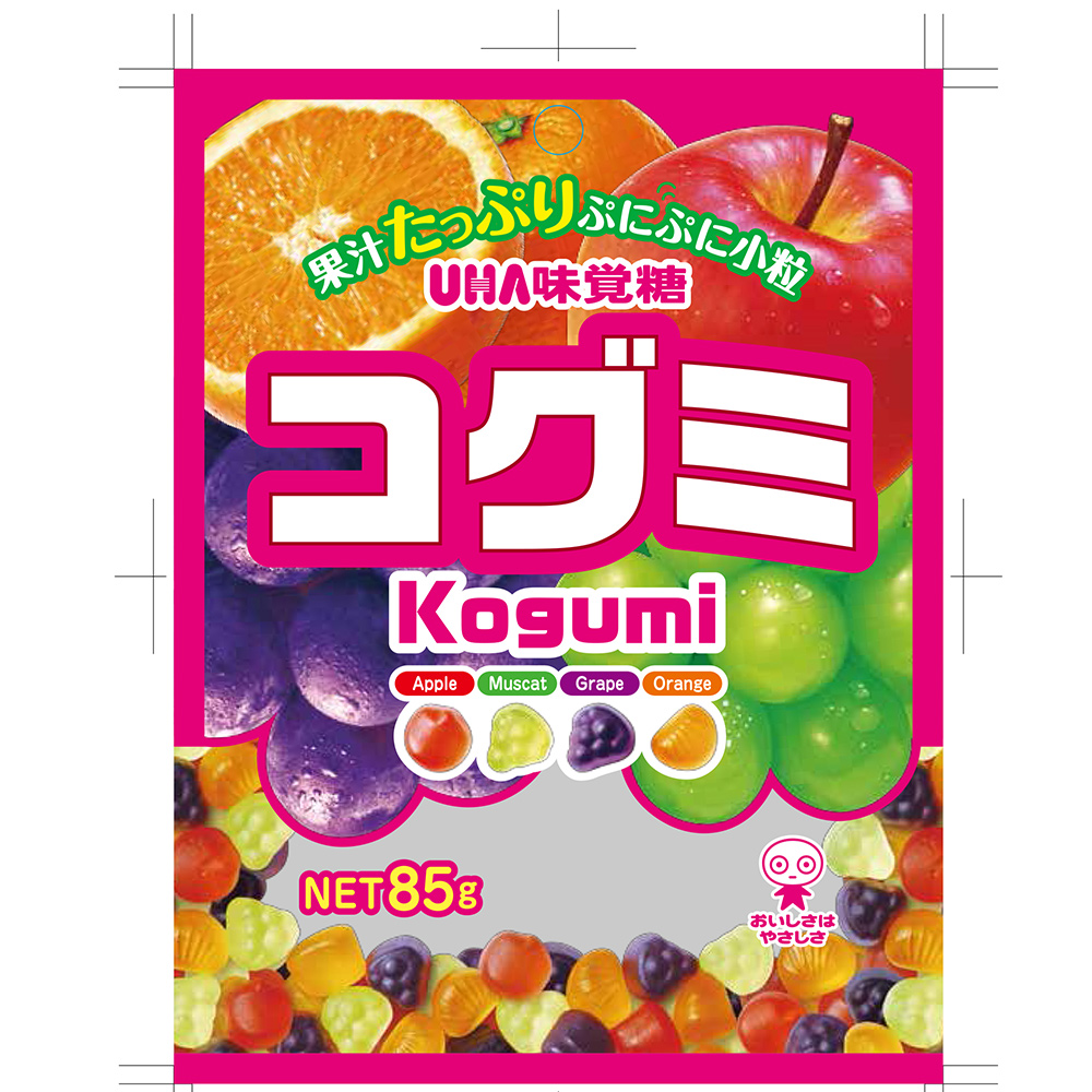味覺糖 酷Q彌軟糖-水果味(85g)