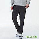 bossini男裝-休閒彈性束口褲03黑