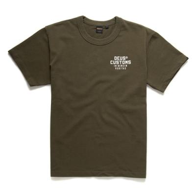 Deus Ex Machina  Bronson Tee T恤-(綠)