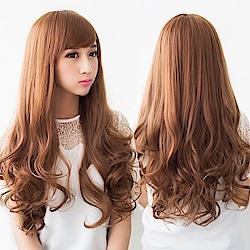 米蘭精品 長假髮整頂假髮-大波浪長捲髮蓬鬆自然女假髮8款73rr1