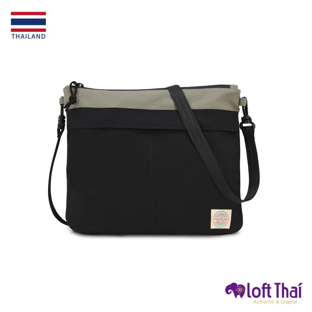 Loft THAI   泰.防撕裂輕量隨行包   Grey/black