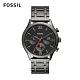 FOSSIL Fenmore Midsize紅色指針設計不銹鋼手錶 44mm BQ2408 product thumbnail 1
