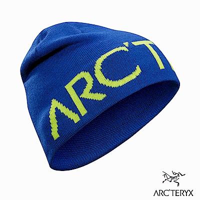 Arcteryx Word 保暖針織毛帽 拉非藍/榍石黃