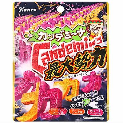 KANRO Candemina蘇打風味軟糖(63g)