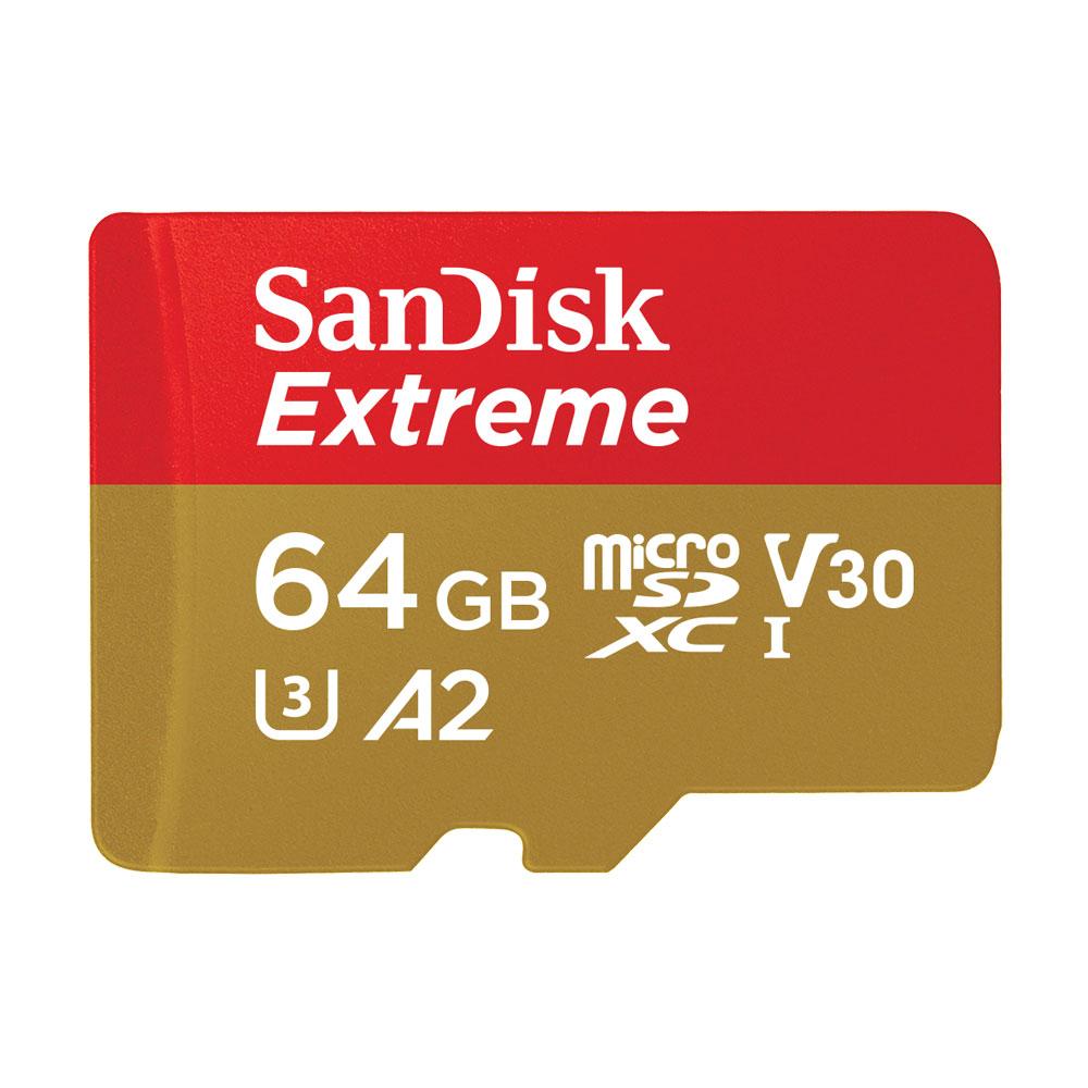 SanDisk Extreme microSDXC UHS-I(V30)(A2)64GB