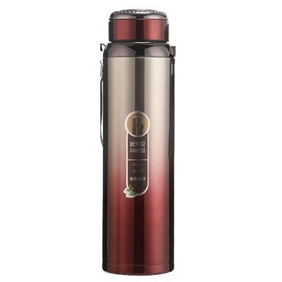 驥展 食品級 不鏽鋼真空高質感保溫瓶 (600ml)