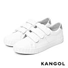 【KANGOL】三帶皮革休閒鞋-共兩色