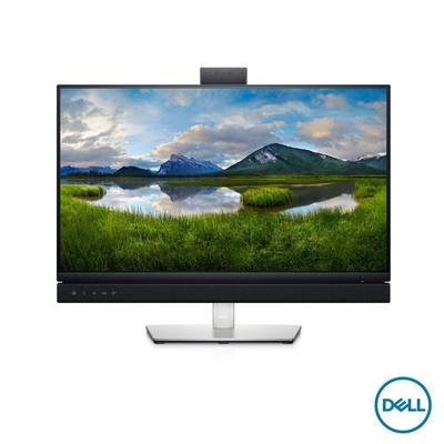 DELL C2422HE-3Y 24型 FHD 視訊會議顯示器