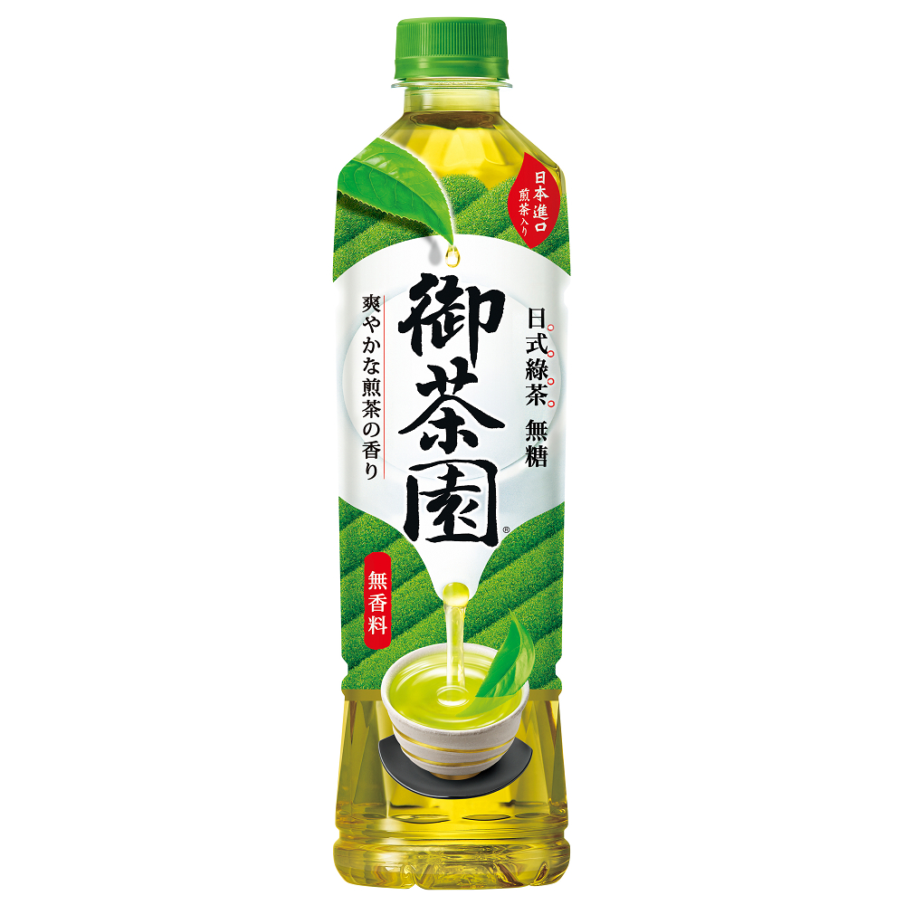 御茶園 日式綠茶(550mlx24入)