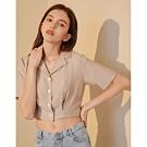 Shester55-排扣短袖襯衫(兩色)-女【TSH180】