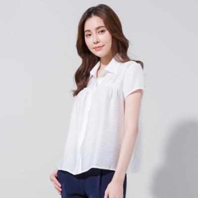 獨身貴族 甜美之旅娃娃裝短袖襯衫(2色)