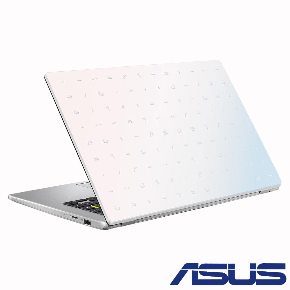 ASUS E410MA 14吋筆電 (N4020/4G/64G EMMC/LapTop/夢幻白)