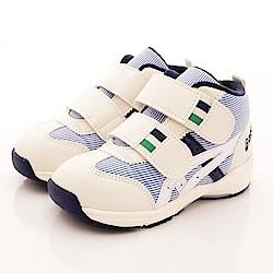 亞瑟士SUKU2機能鞋 護踝穩定款 ON66-50S白藍(寶寶段)