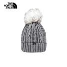 The North Face北面女款灰色舒適保暖戶外運動帽 3FJMDYY