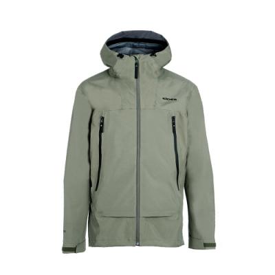 法國【EiDER】男專業Gore-tex 3L 防水連帽外套 / 20EIV5225-沉穩綠
